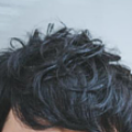 フサフサ髪